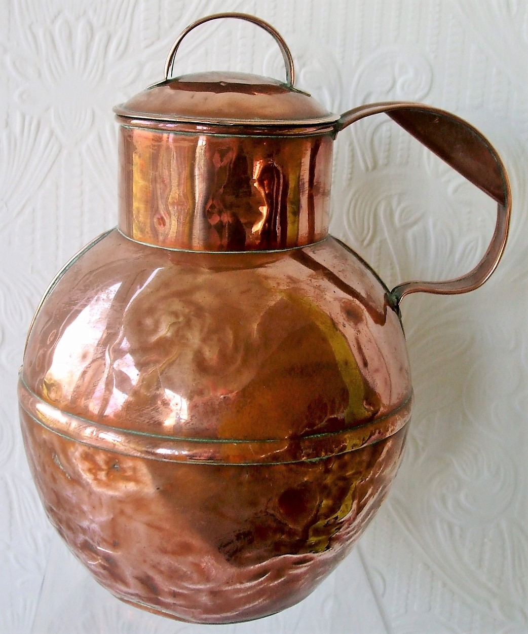 4 Pint Copper Channel Islands Milk Can
