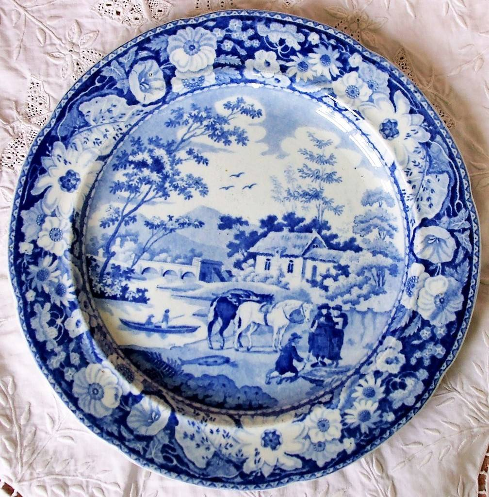 Official Website Adams Tunstall Large Plate Pottery