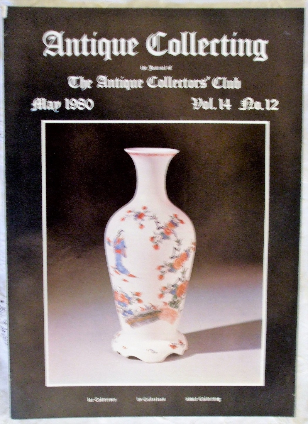 Antique Collecting May 1980