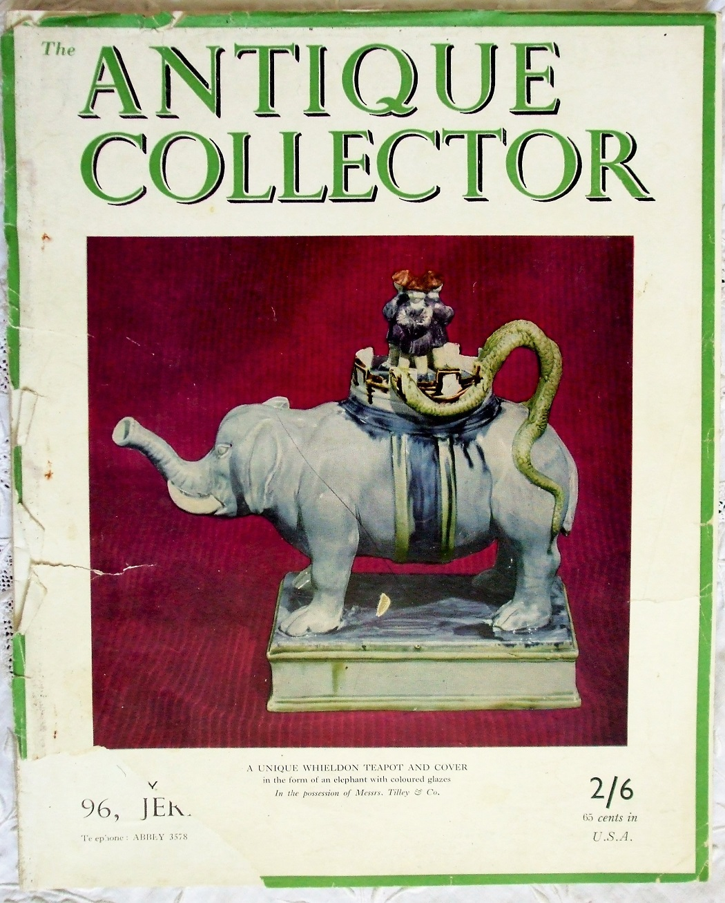 Antique Collector January-February 1950