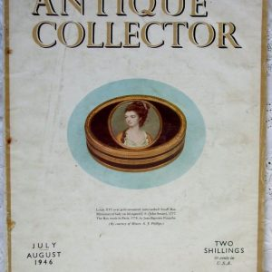 Antique Collector July-August 1946