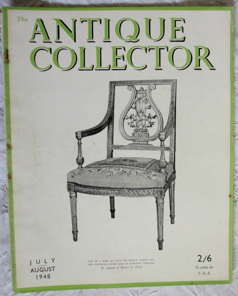 Antique Collector July-August 1948
