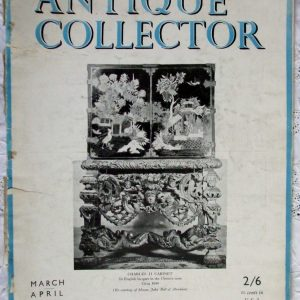 Antique Collector March-April 1947