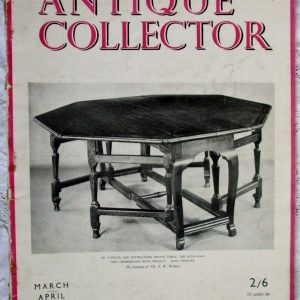 Antique Collector March-April 1948