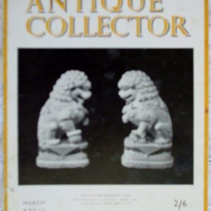 Antique Collector March-April 1950