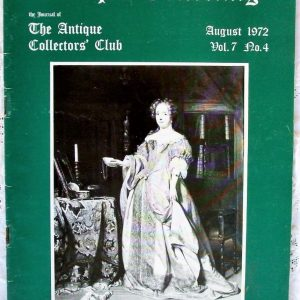 Antique Collecting August 1972