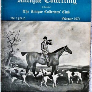Antique Collecting February 1971