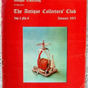 Antique Collecting January 1971
