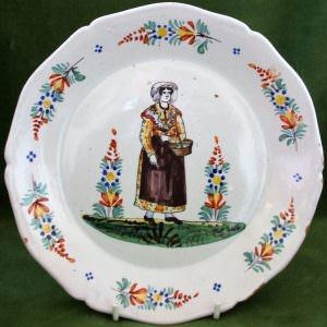 Antoine Montagnon Nevers Lady Plate