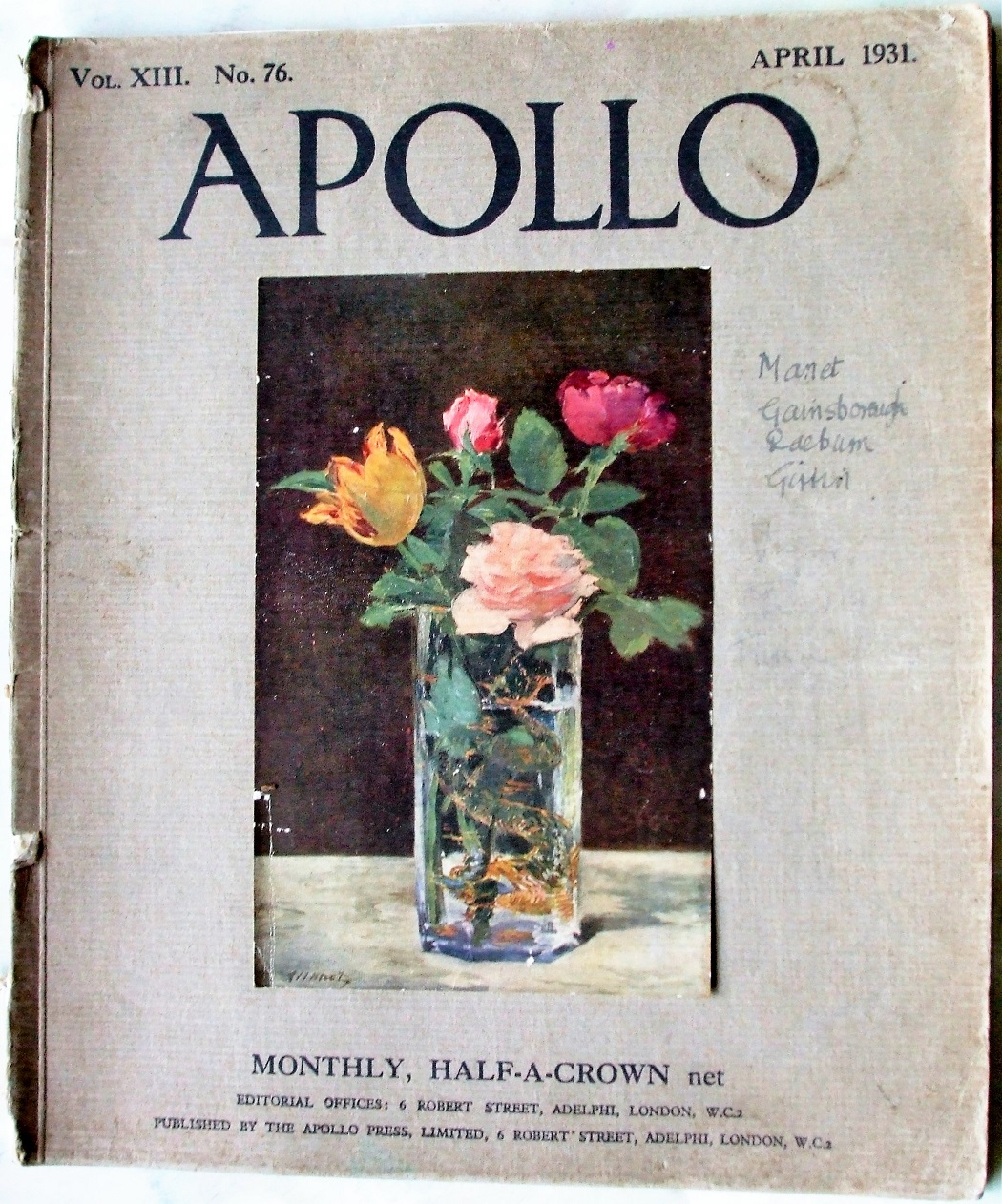 Apollo April 1931
