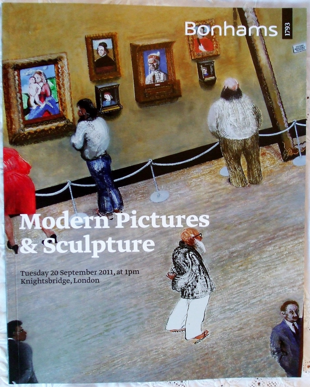 B 18928 Modern Pictures and Sculpture L 20. 09. 2011