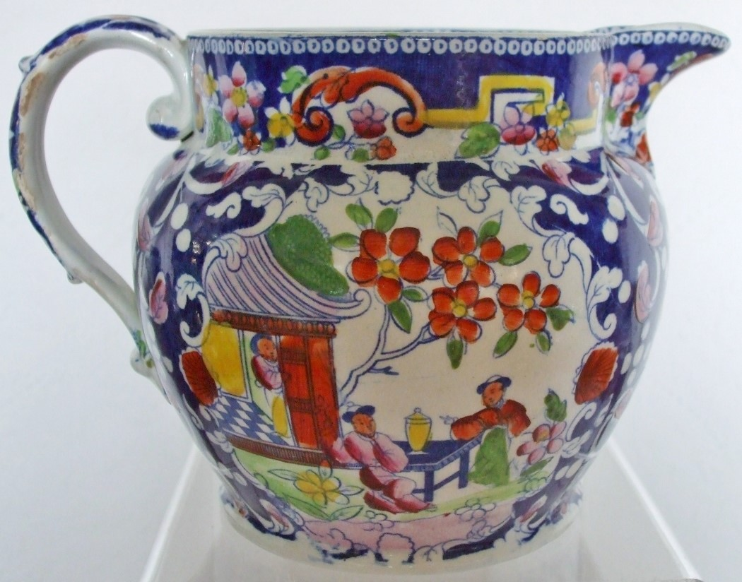 Baggerley and Ball Chinoiserie Quart Jug