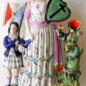 Staffordshire Figure Band of Hope H 1790