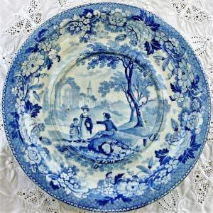 Blue and White Tureen Stand Beeston Priory Norfolk Zacharia Boyle