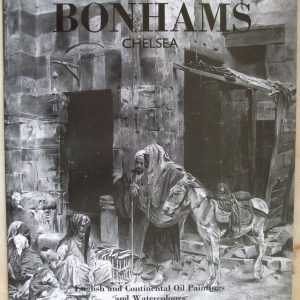 Bonhams English And Continental Oil Paintings And Watercolours 25 January 1995