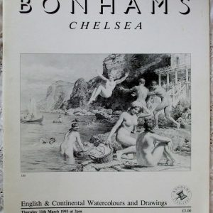 Bonhams English And Continental Watercolours And Drawings 11 March 1993