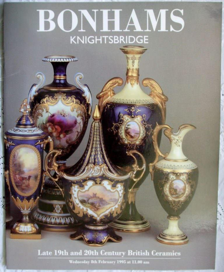 Bonhams Late 19th And 20th Century British Ceramics 08 February 1995