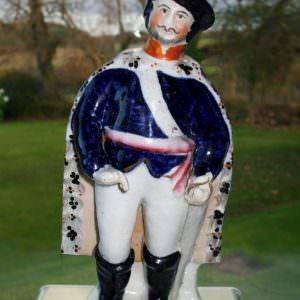 Staffordshire Theatrical Figure Brigand H 1411
