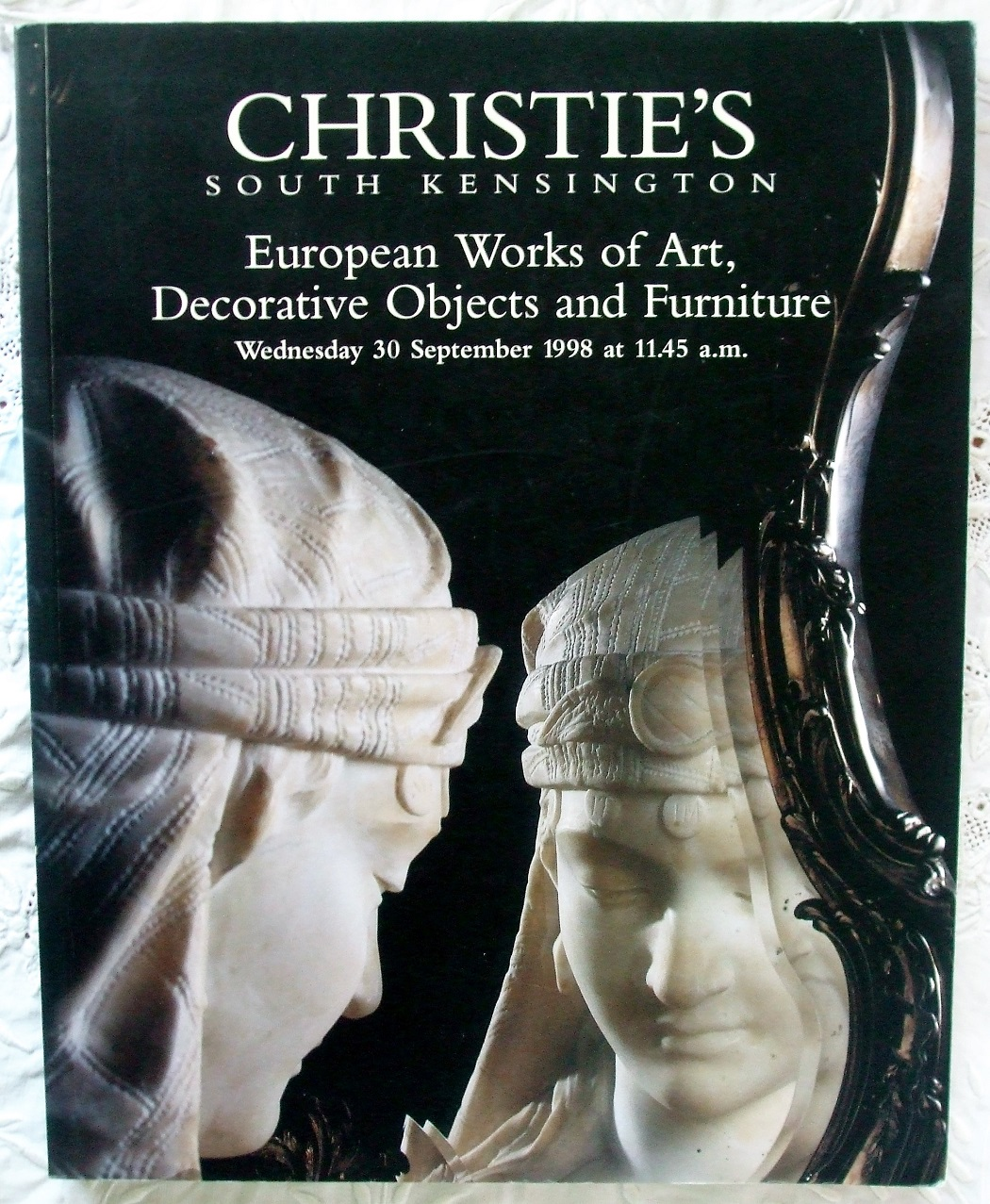 C FRN-8133 European Works of Art Decorative Objects Furniture L 30. 09. 1998