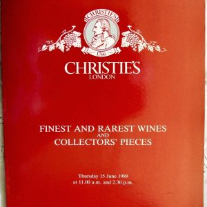C HERMITAGE 4074 Finest and Rarest Wines and Collectors Pieces L 15. 06. 1989
