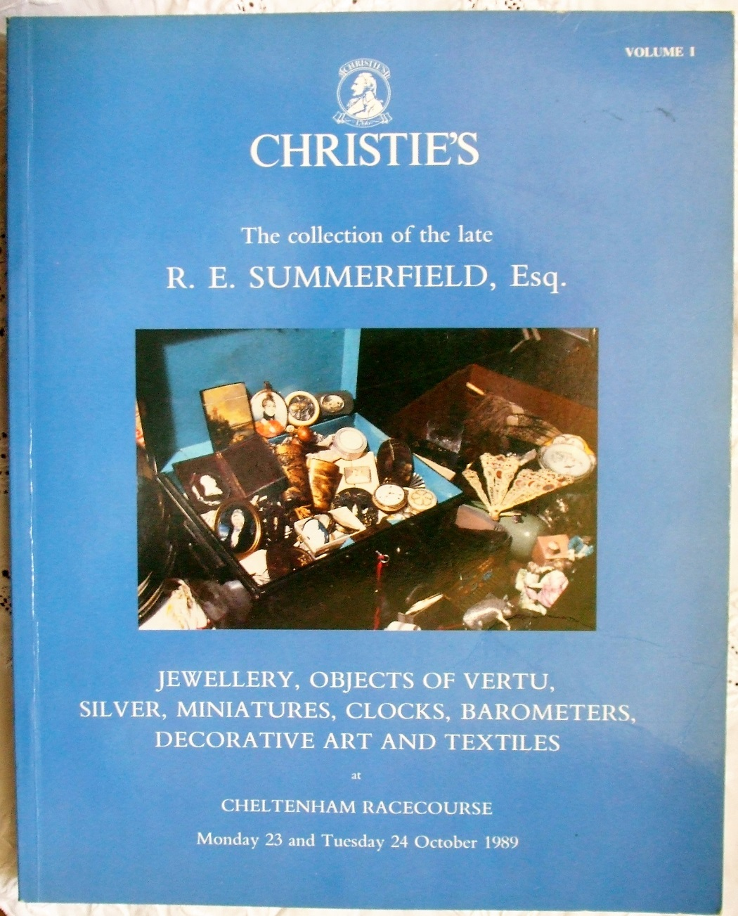 C HSE-3600 The Collection of The Late R.E. Summerfield Vol. I Cheltenham Racecourse 23. - 24. 10. 1989
