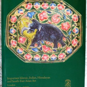 Christie's Important Islamic Indian Himalayan and South East Asian Art London 24. 04. 1990