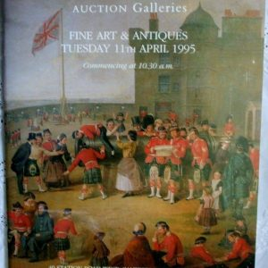 Canterbury Auction Galleries Fine Art And Antiques Canterbury 11 April 1995