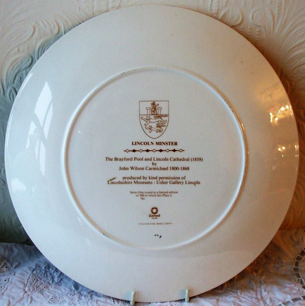 Caverswall Lincoln Minster Dish