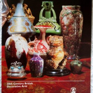 Christies South Kensington 20th Century British Decorative Arts13 October 1995