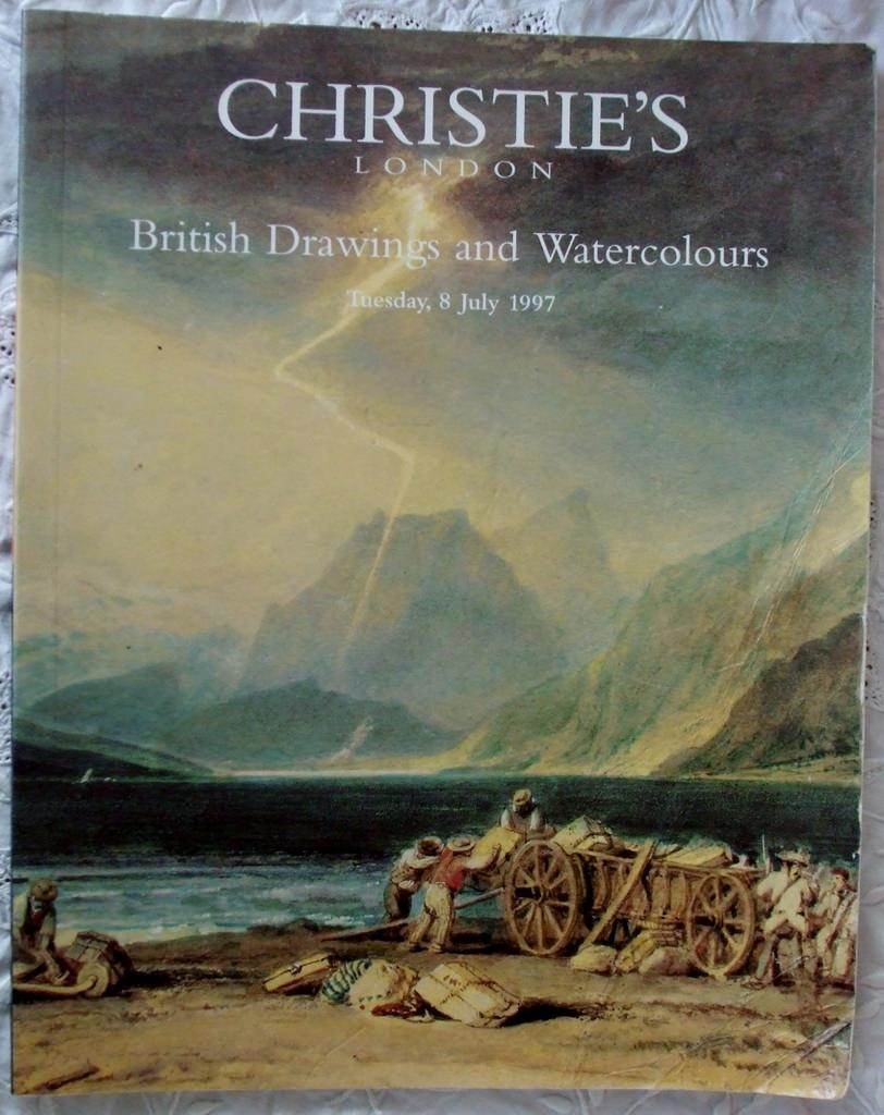 Christies British Drawings And Watercolours 08 July 1997