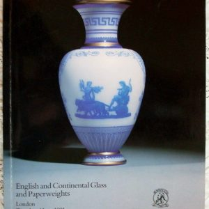 Christies English And ContinentalGlassAnd Paperweights 04 June 1991