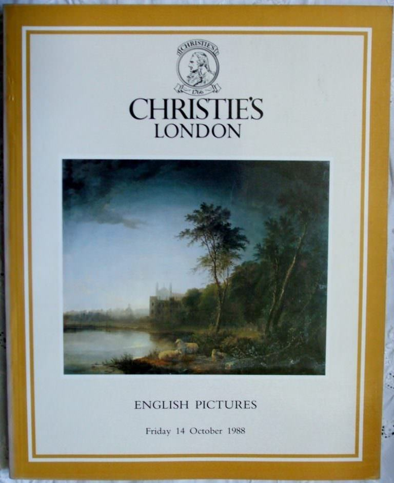Christies English Pictures 14 October 1988