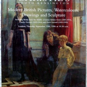 Christies South Kensington Modern British Pictures Watercolours Drawings And Sculpture 12 September 1996