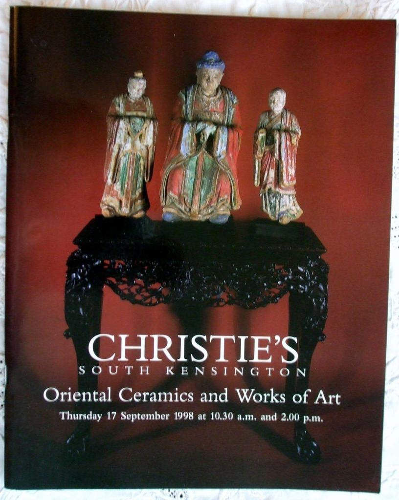 Christies South Kensington Oriental Ceramics And Works Of Art 17 September 1998