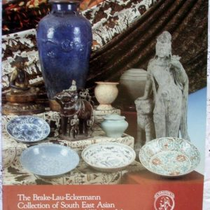 Christies The Brake Lau Eckermann Collection Of South East Asian Ceramics Textiles Works Of Art Melbourne 03 September 1990