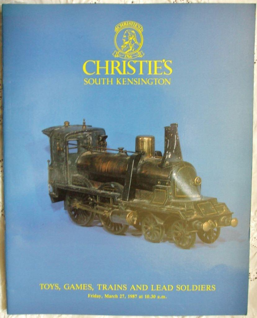 Christies South Kensington Toys Games Trains Lead Soldiers 27 March1987