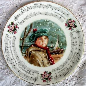 Royal Doulton Christmas Carols Plate 1986