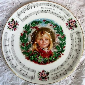 Royal Doulton Christmas Carols Plate 1987