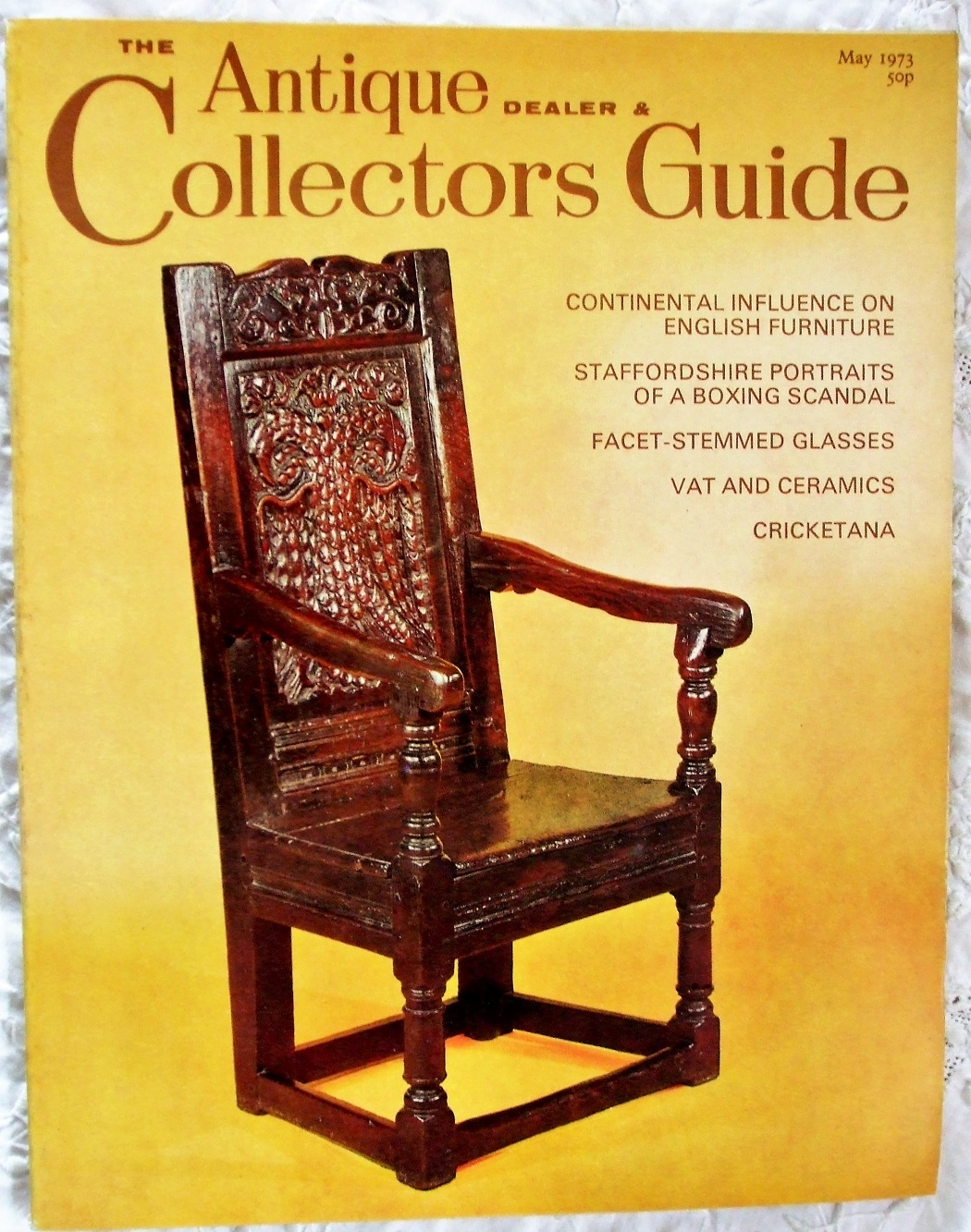 Collectors Guide May 1973