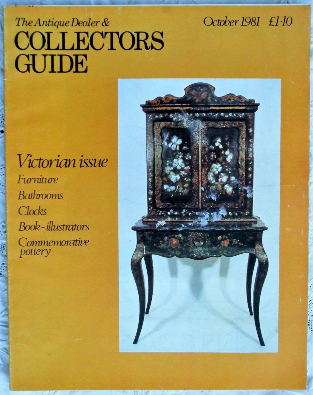 Collectors Guide October 1981