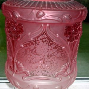 Cranberry Glass Shade