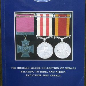 Dix Noonan Webb Richard Magor Collection India Africa Medals 02 July 2003
