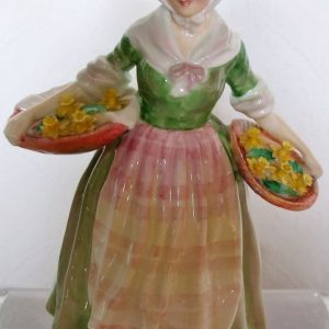 Royal Doulton Figurine Daffy Down Dilly HN 1712