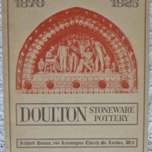 Doulton Stoneware Pottery Richard Dennis London 1971