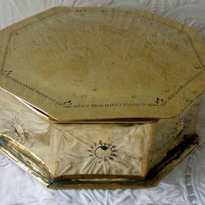 Dutch Brass Tobacco Box