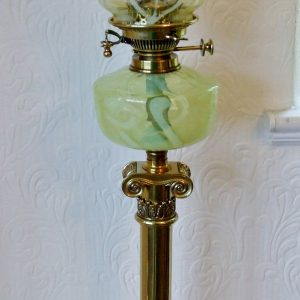 Hinks Ionic Column Lamp