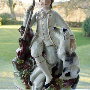 Staffordshire Figure Hunter H 1826