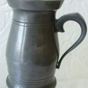 Irish Pewter Gill Measure