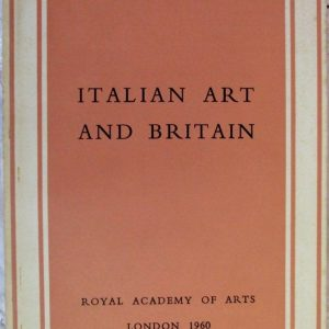 Italian Art and Britain R.A. Winter 1960