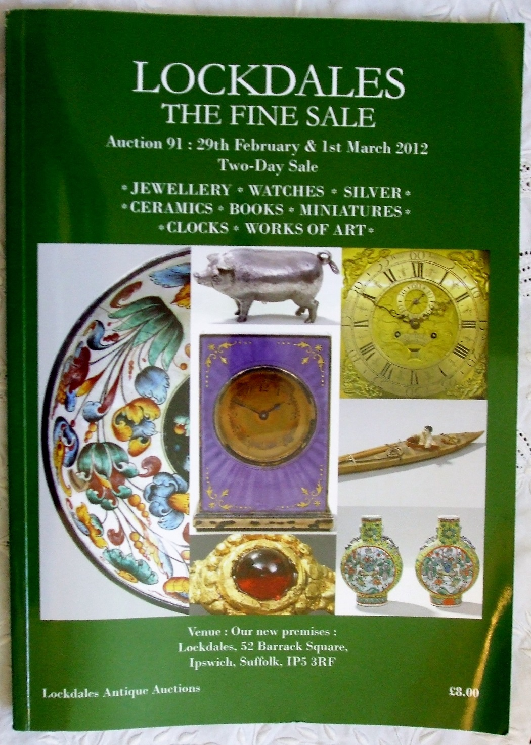 Lockdales 91 Antiques and Collectables I 29. 02. and 01. 03. 2012